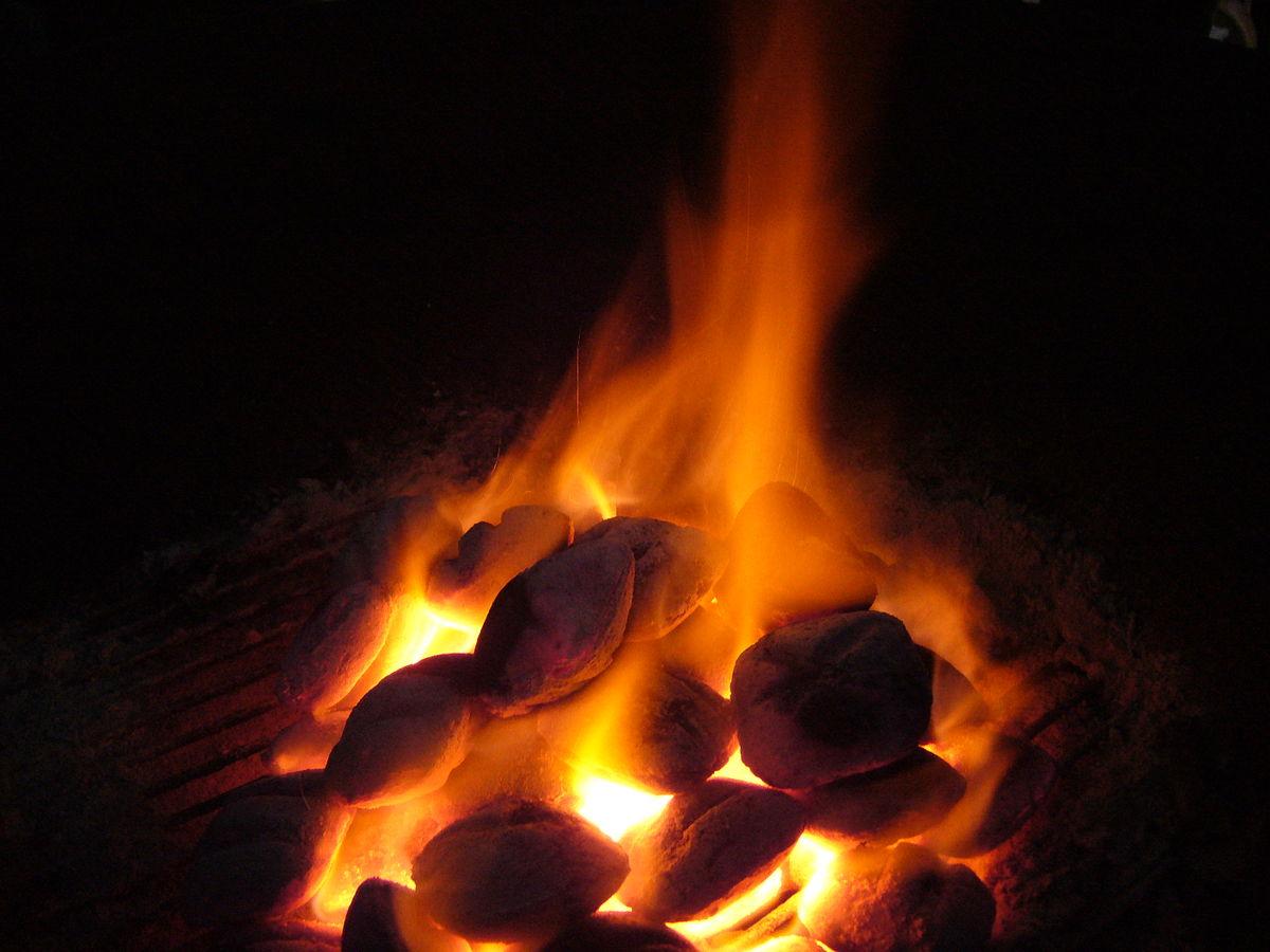 Burning Coals