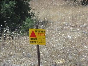 Sign reading danger