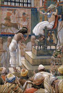 Joseph before Pharaoh