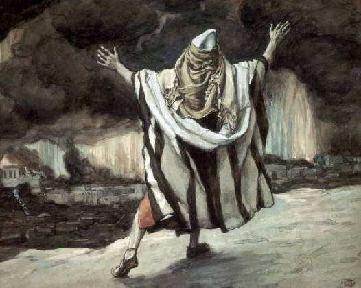 Abraham before Sodom