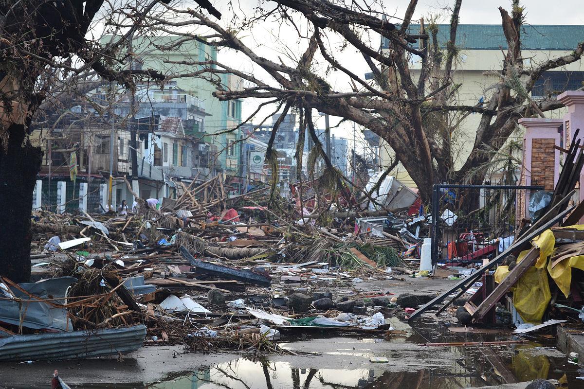 Natural Disaster Wreckage