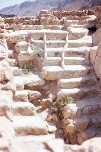 Qumran broken mikveh
