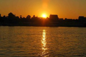 Sunrise over Nile