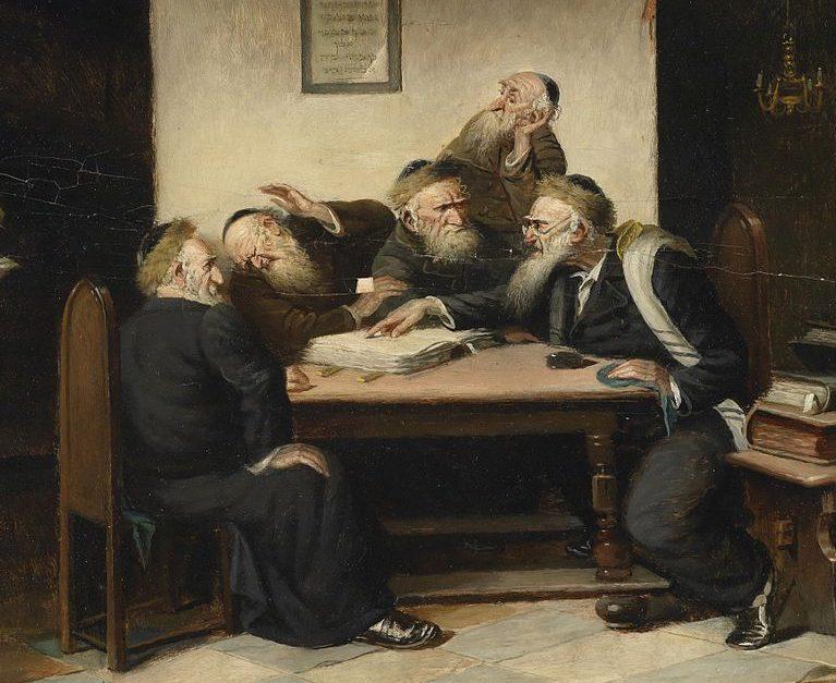 rabbis arguing