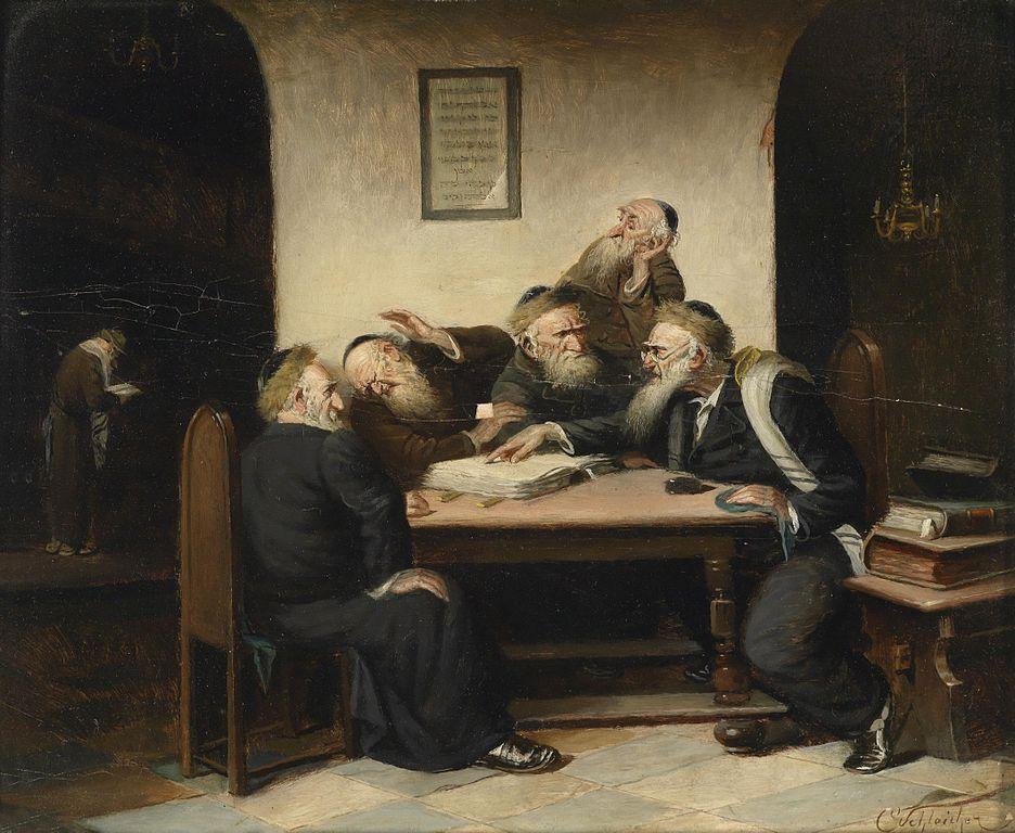 rabbi's conversing