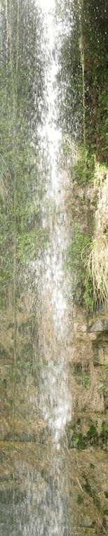 Long En-Gedi Waterfall